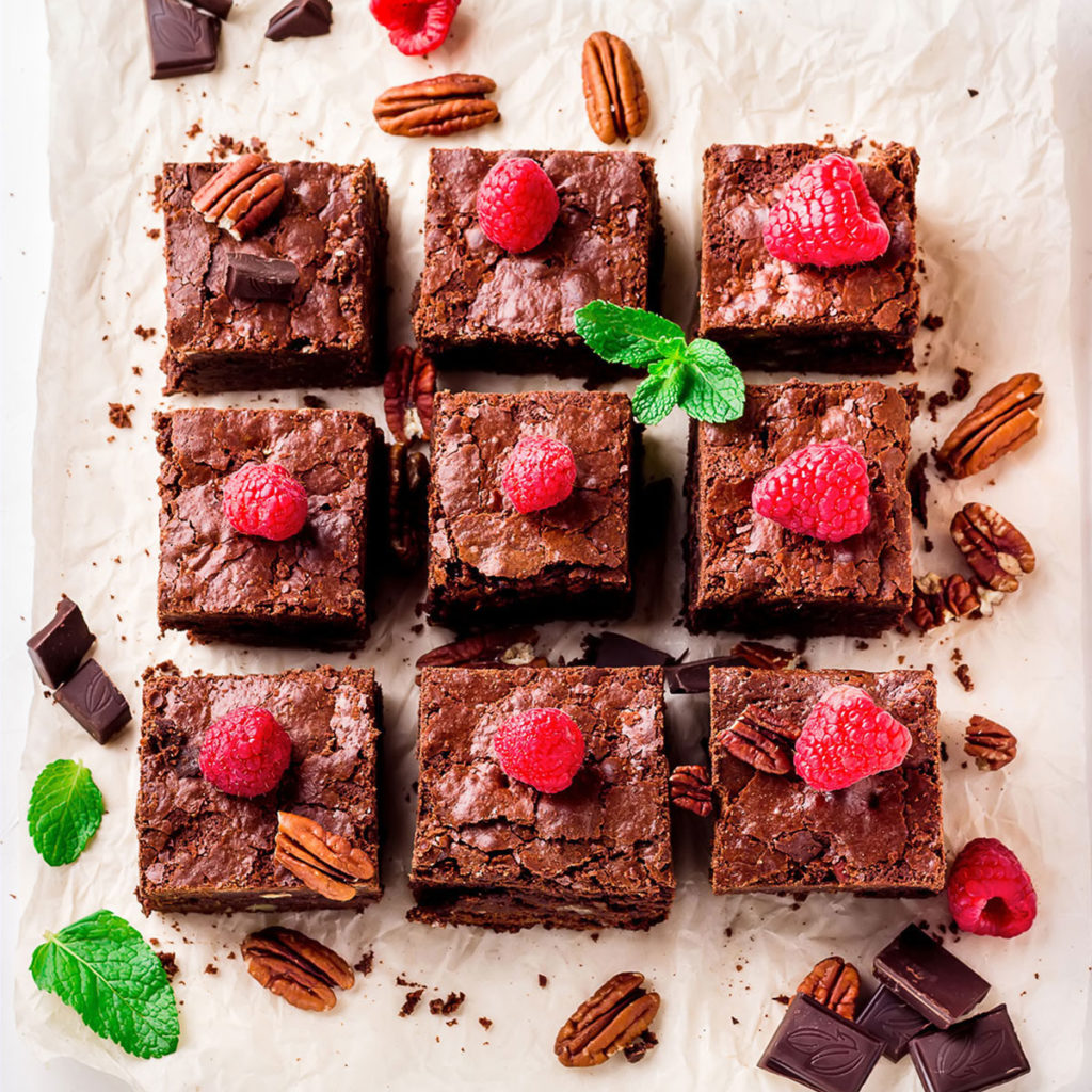 brownies vegani