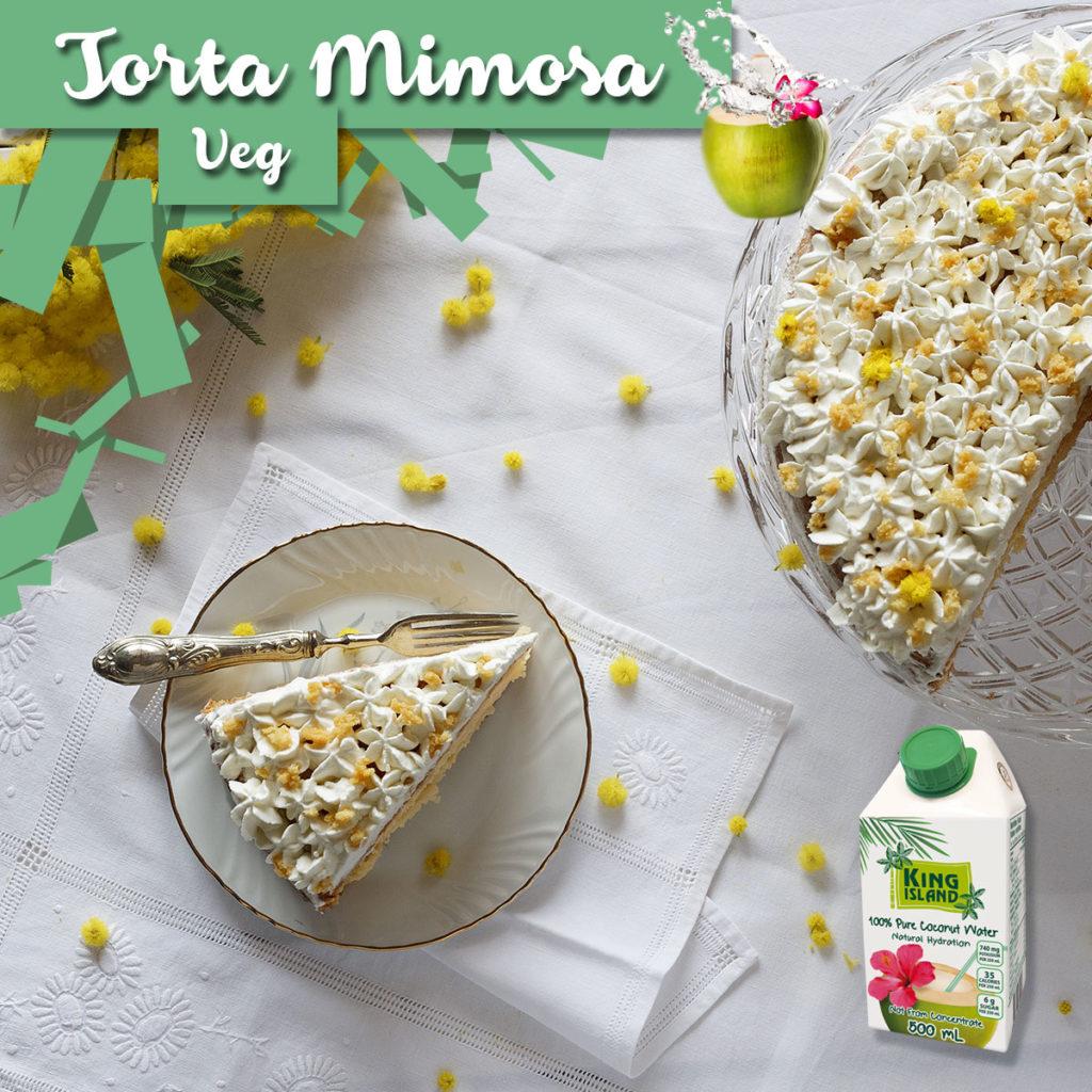 Torta mimosa veg
