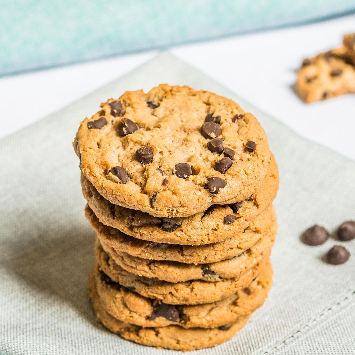 Biscottini vegani al cioccolato fondente
