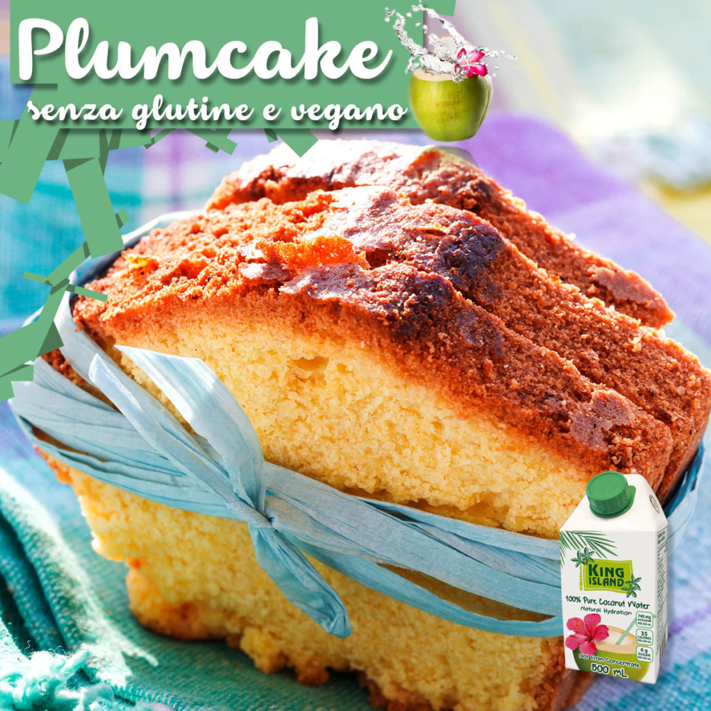 Plumcake senza glutine vegano